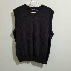 Saddlebred cotton pullover vest